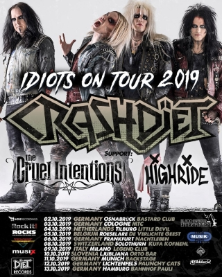 10 Crashdiet flyer